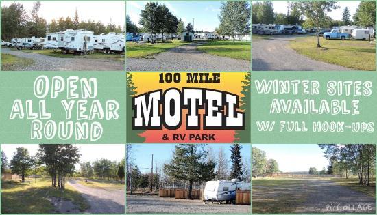 100 Mile House, Kanada: rv park