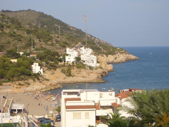 Melia Sitges: Вид на пляж
