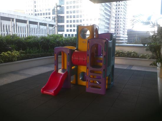 The Exchange Regency Residence Hotel: 子供の遊び場
