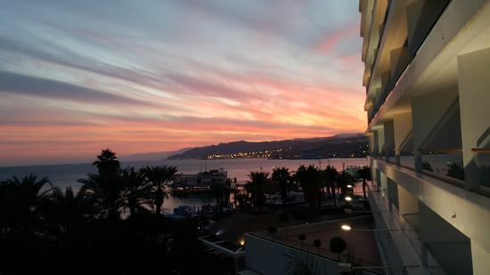Royal Beach by Isrotel Exclusive Collection: Sunset from the Balcony