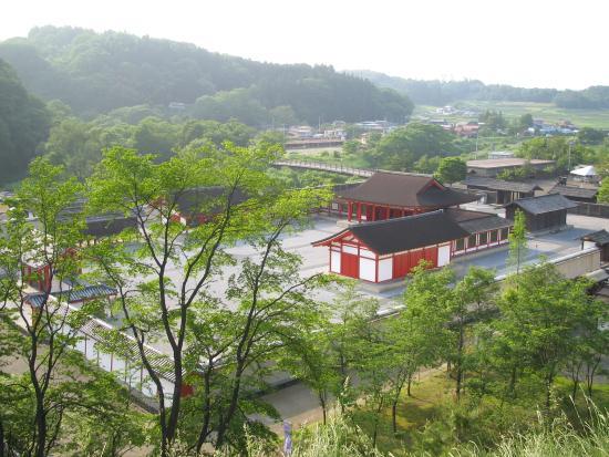 Oshu, Japan: 眺めです。