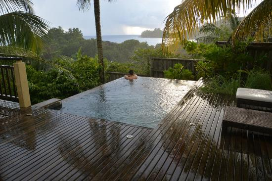 Valmer resort pool villa photo de valmer resort le de for Villas de jardin seychelles tripadvisor