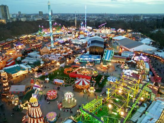 Image result for winter wonderland london