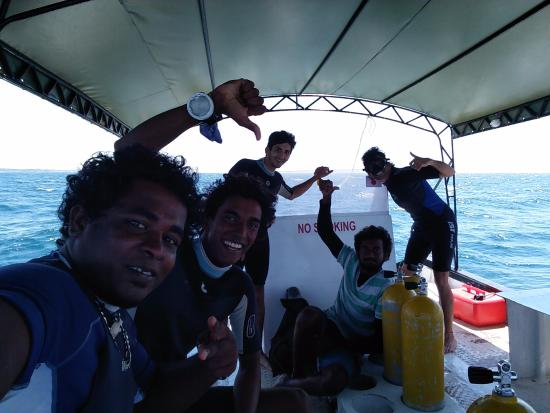Poseidon Diving Station Hotel: The dive crew