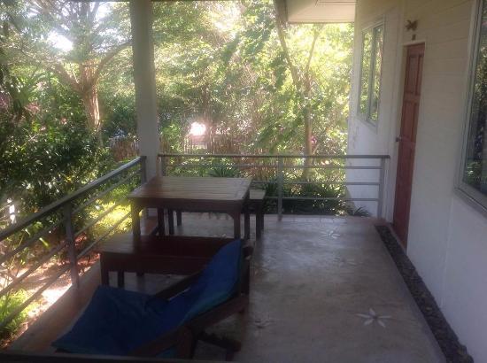 Ruan Panalee Resort : 二樓的標準間Twin