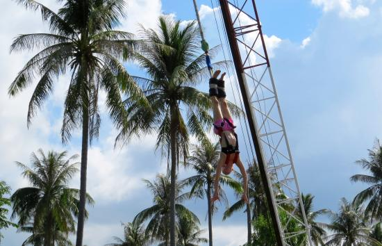 Samui Bungy Jump: Beautiful location..