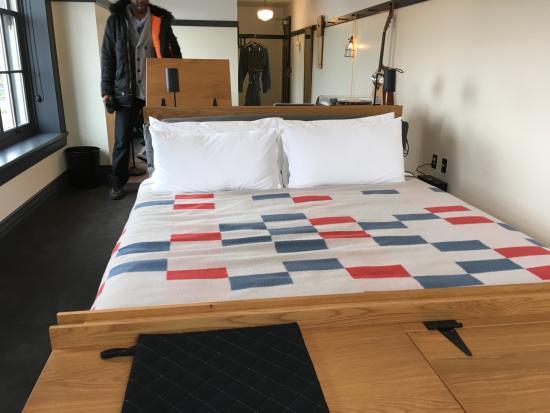 Ace Hotel Pittsburgh Suite Bedroom