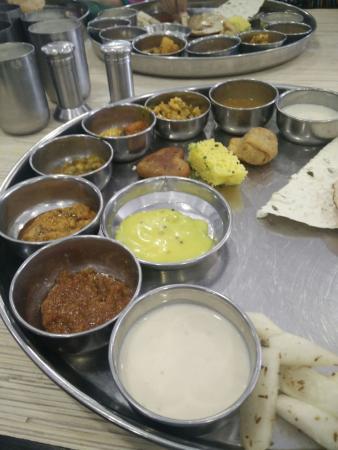 Thali picture of atithi ahmedabad tripadvisor for Atithi indian cuisine