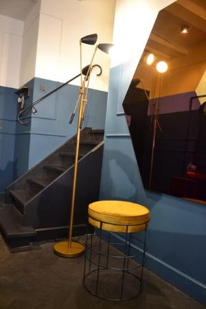 The Hoxton, Amsterdam: Stairs to the bathroom