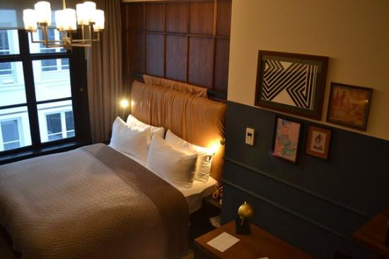 The Hoxton, Amsterdam: A bed