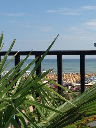 Hotel Nuovo Giardino: Panorama vista a mare