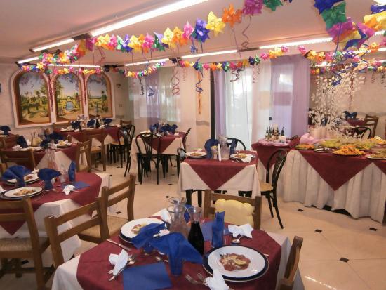 Hotel Nuovo Giardino: Pranzo sala il Gelso
