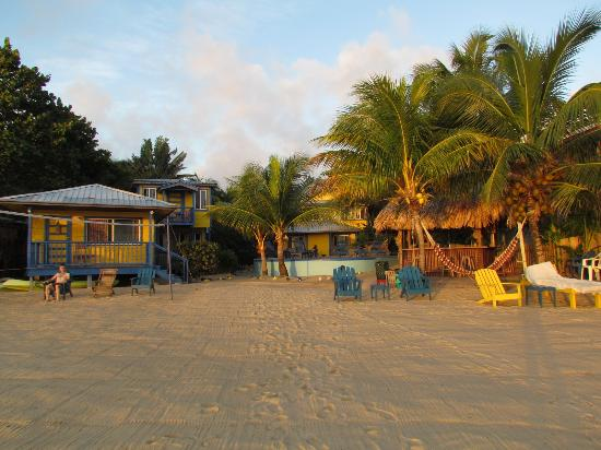 Maya Breeze Inn : view from beach