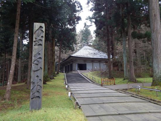 Chuson-ji Temple: ทางเข้าชมศาลาทองคำ