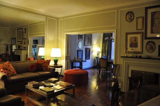 B&B Plaza Italia: Livingroom