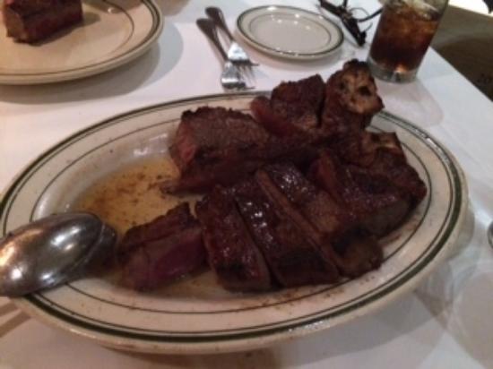 Wolfgang's Steakhouse: ポーターハウスステーキ