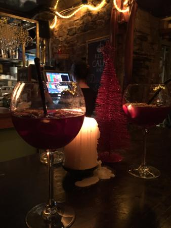 The Port House: glasses of sangria