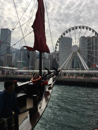 Most enjoyable way to see Victoria Harbour