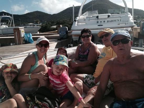 Oyster Pond, St. Martin/St. Maarten: Ready for our boat trip!