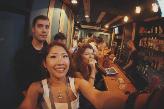 Osaka minami friends and drinks - Picture of Moonshine Karaoke Bar ... 3648c45574e