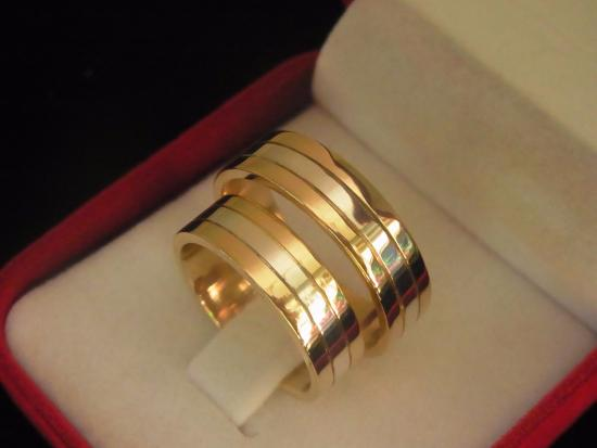 Etonnant Latina Goldsmith: 25th Wedding Anniversary Rings