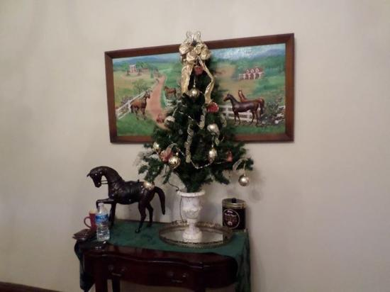 Black's Fort Inn Bed & Breakfast: Our Christmas tree