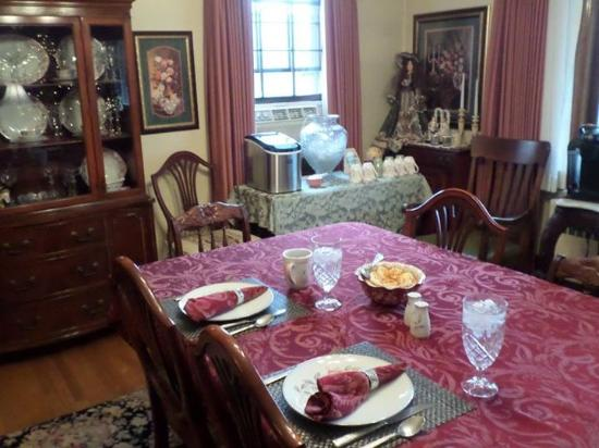 Black's Fort Inn Bed & Breakfast: Our amazing breakfast