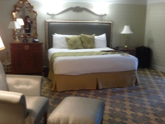 West Baden Springs Hotel: our room