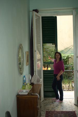 Il Giardino della Melagrana: балкон
