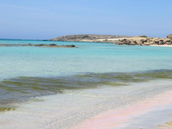 Kreta, Griechenland: sabbia rosa