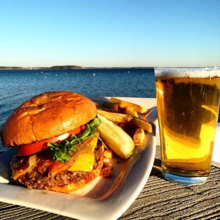 Piney Point, แมรี่แลนด์: Cheeseburger