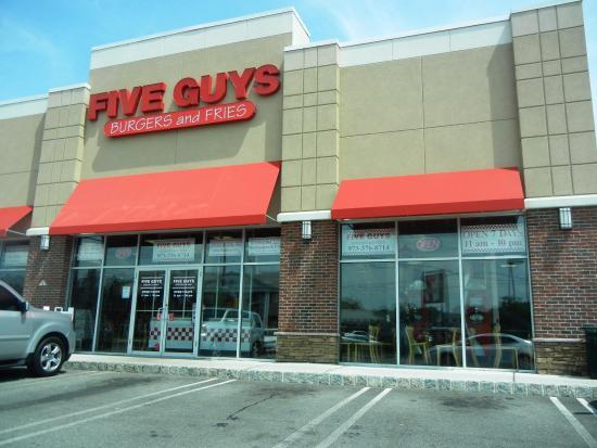 Springfield, Nueva Jersey: Five Guys