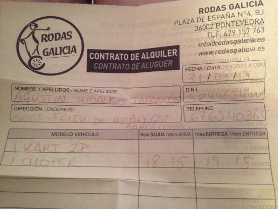 Rodas Galicia