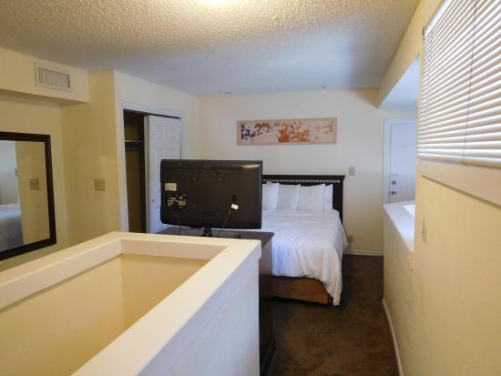 Slaapkamer picture of hawthorn suites by wyndham dallas love field