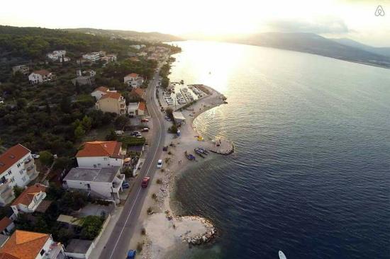 Arbanija, Hırvatistan: Villa Mornar