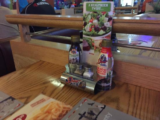 Kansas Spur Steak Ranch: our table