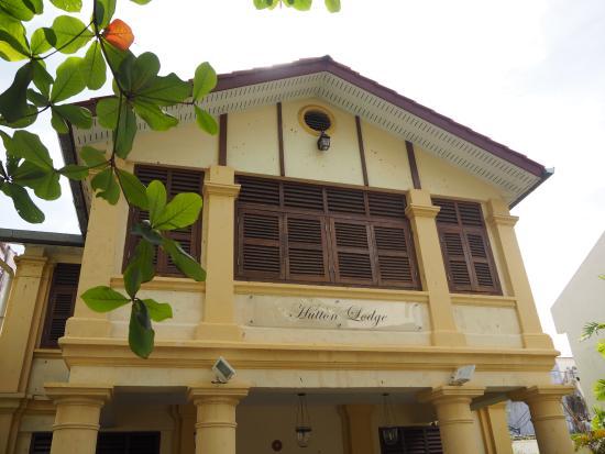 Hutton Lodge: Hutton Lodge Main Entrance