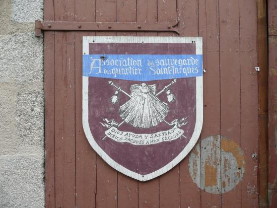 Parthenay, Frankrike: Ancienne enseigne.