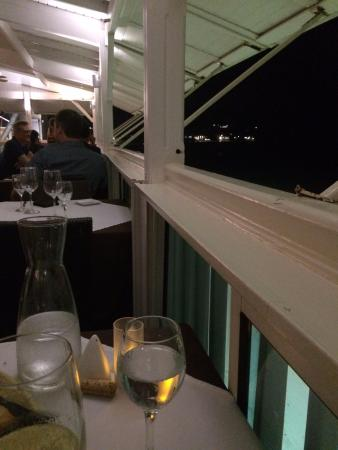 View from Seaside Table