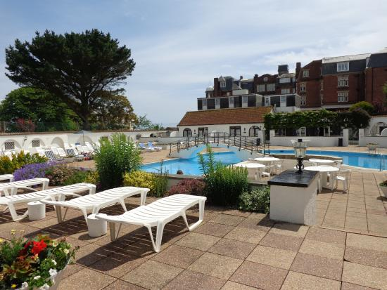 The Outdoor Swimming Pool At The Victoria Hotel Picture Of Victoria Hotel Sidmouth Tripadvisor