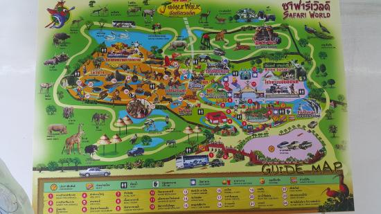 Map of the place picture of safari world bangkok tripadvisor safari world map of the place gumiabroncs Gallery