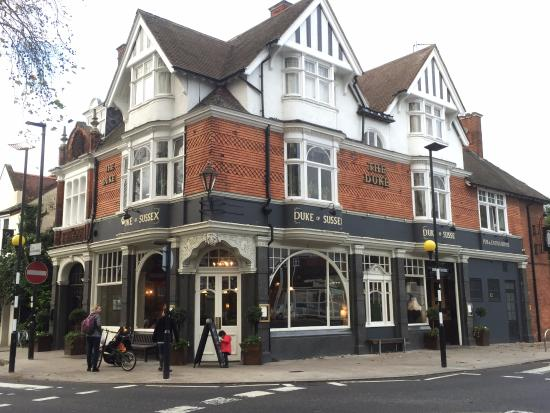 The Duke of Sussex : Duke of Sussex, Chiswick