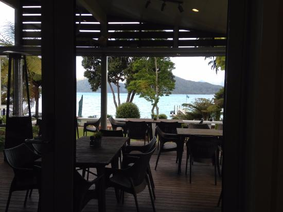 Marlborough, Yeni Zelanda: view from the restaurant