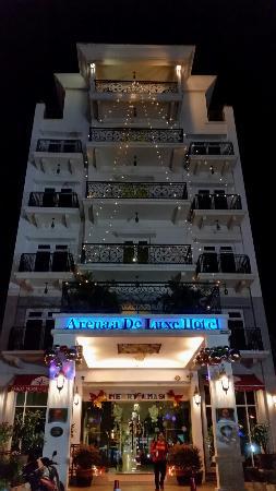 Arenaa De Luxe Hotel: Christmas Deco was superb