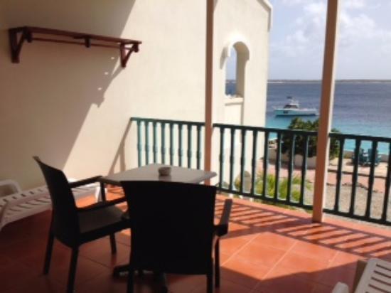 Captain Don's Habitat: Balcony with sea view