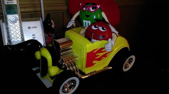Sweeet!: M&M dispenser