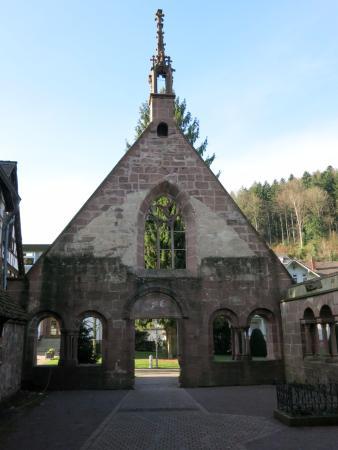 Bad Herrenalb, Tyskland: мужской монастырь