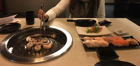 Kyo Korean BBQ & Sushi House : Korean barbecue and sushi