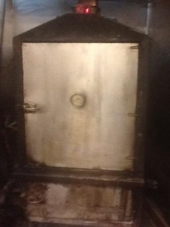 One Of The Custom Pits In The Kitchen Picture Of Goad Barbecue
