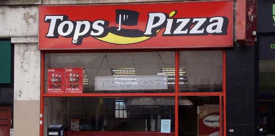 Bad Rip Off Tops Pizza Watford Traveller Reviews